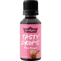 GymQueen Tasty Drops - 30ml - Nuss Nougat
