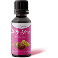 GymQueen Tasty Drops - 30ml - Banana Bread