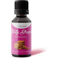 GymQueen Tasty Drops - 30ml - Snickerdoodle