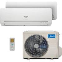 Ar Condicionado Multi Bi Split Hw Inverter Springer Midea 1X9000+1X12000 Btus Quente/Frio 220V 1F 38MBBA18M5