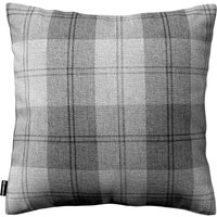 Kinga Cushion Cover Grey Tartan