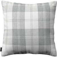 Kinga Cushion Cover Grey & White Tartan