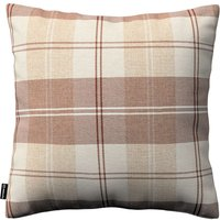 Kinga Cushion Cover Ivory & Beige Tartan