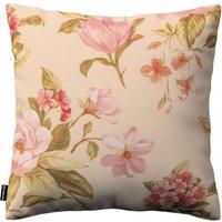 Kinga Cushion Cover Large Red, Pink And Orange Flowers, Ivory Backround