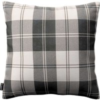 Kinga Cushion Cover Black & White Tartan