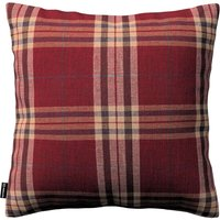 Kinga Cushion Cover Burgundy Tartan