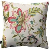 Kinga Cushion Cover Multicolour Big Flowers On Light Background