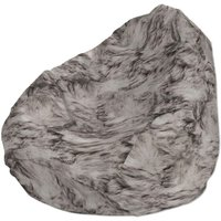 Beanbag, brown, black and off white
