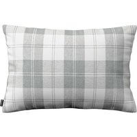 Kinga Cushion Cover 60x40cm Grey & White Tartan