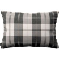 Kinga Cushion Cover 60x40cm Black & White Tartan
