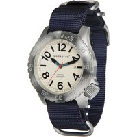 Momentum Torpedo NATO Watch - White Face / Blue NATO