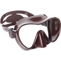 Cressi F1 Mask - Brown - F1 Gifts