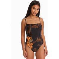 Ted Baker Ceskilo Caramel Swimsuit - Black