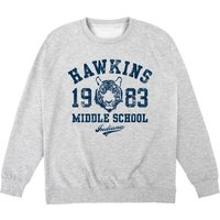 Inspired By Stranger Things - Hawkins Middle School Sweatshirt - Stranger Things Gifts