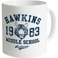 Inspired By Stranger Things - Hawkins Middle School Mug - Stranger Things Gifts