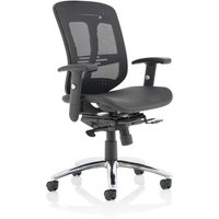 Mirage II Executive Chair Black Mesh With Arms Without Headrest