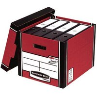 Click to view product details and reviews for Bankers Box Red Presto Bankers Box Premium Storage Boxes Pack Of 102 7260701.