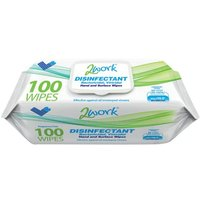 2Work Viricidal Hand And Surface Wipes (Pack of 100) 2W07385