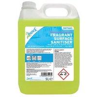2Work Fragrant Surface Sanitiser 5 Litre 2W75443