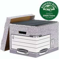 Click to view product details and reviews for Bankers Box Storage Box Grey Standard Pack Of 10 00810 Ff.