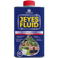 Jeyes Fluid Outdoor Disinfectant 1 Litre (Use on drains patios and conservatories) 1004028