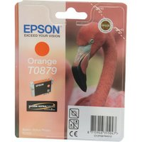Click to view product details and reviews for Epson T0879 Orange Inkjet Cartridge C13t08794010 T0879.