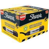 Click to view product details and reviews for Sharpie Permanent Marker Xl Chisel Tip Black Pack Of 12 S0949850.