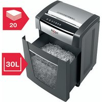 Rexel Momentum X420 Cross-Cut Paper Shredder Black 2104578