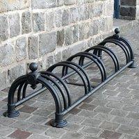 Cycle Rack Versaille Black (350 x 1600 x 430mm) 383767