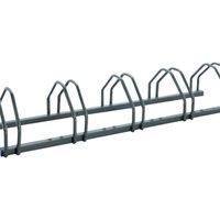 Cycle Rack 5-Bike Capacity Aluminium 309713