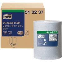 Tork Multi Purpose Cloth Combi Roll 152m Blue 510237