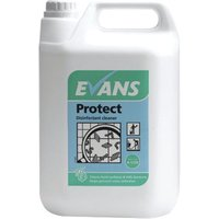Evans Protect Disinfectant Concentrate 5 Litre (Pack of 2) A125EEV2