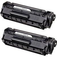 2 Pack - Compatible Canon 104 Toner Cartridge, Black (0263B001AA)