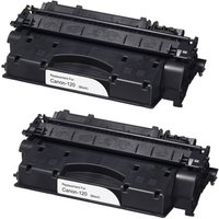 2 Pack - Compatible Canon 120 Toner Cartridge, Black (2617B001AA)