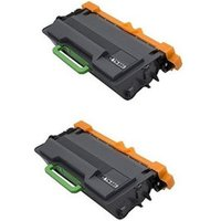 2 Pack - Compatible Brother TN880 Toner Cartridges, Super High Yield, Black - 12,000 Page Yield