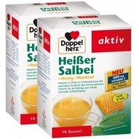 Doppelherz Heißer Salbei + Honig + Menthol