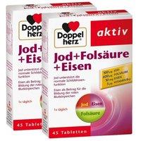 Doppelherz Jod + Folsäure + Eisen