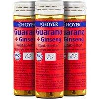Hoyer Bio Guarana und Ginseng
