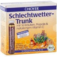 Hoyer Bio Schlechtwetter-Trunk, Kräutershots