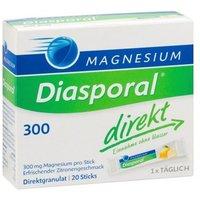 Diasporal Magnesium Direkt 300, Zitrone, Granulat