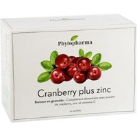 Phytopharma Cranberry plus Zink