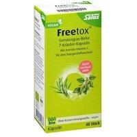 Salus Bio Freetox Gerstengras-Birke 7-Kräuter-Kapseln