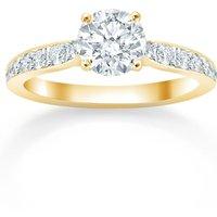 Boscobel 18ct Yellow Gold 1.21cttw Diamond Engagement Ring - Ring Size N