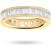9 Carat Yellow Gold 2.00 Carat Baguette Cut Full Eternity Ring - Ring Size Y