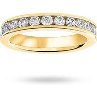 18 Carat Yellow Gold 1.50 Carat Brilliant Cut Channel Set Full Eternity Ring - Ring Size J.5