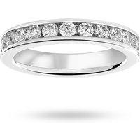 9 Carat White Gold 1.50 Carat Brilliant Cut Channel Set Full Eternity Ring - Ring Size L