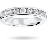 18 Carat White Gold 2.00 Carat Brilliant Cut Channel Set Full Eternity Ring - Ring Size W