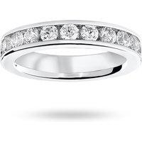 9 Carat White Gold 2.00 Carat Brilliant Cut Channel Set Full Eternity Ring - Ring Size M
