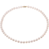 9ct Gold 7.5-8.0mm Freshwater Pearl Necklet