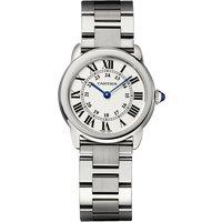 Ronde Solo De Cartier Watch 29mm, Quartz Movement, Steel